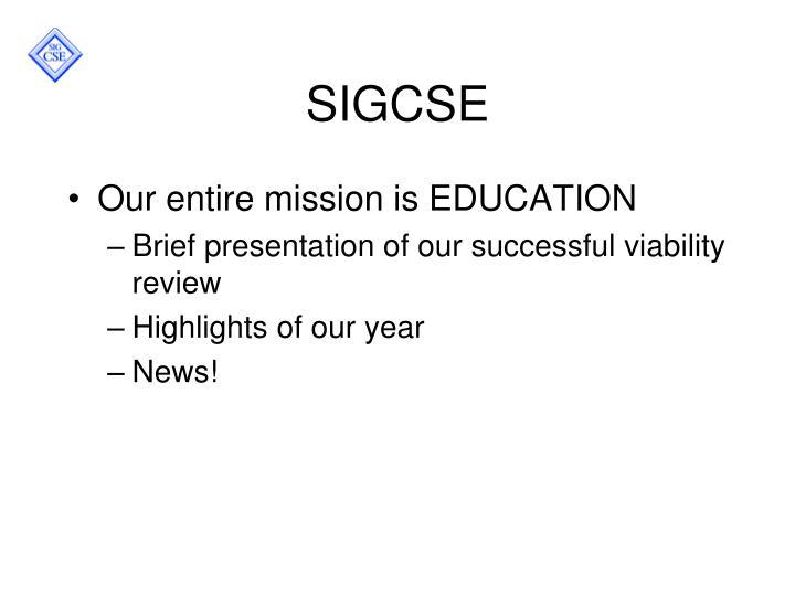 SIGCSE