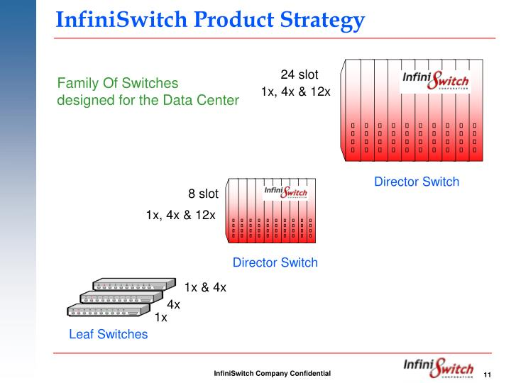 InfiniSwitch Product Strategy