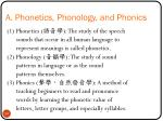 a phonetics phonology and phonics