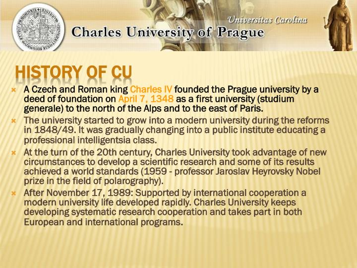 History of CU