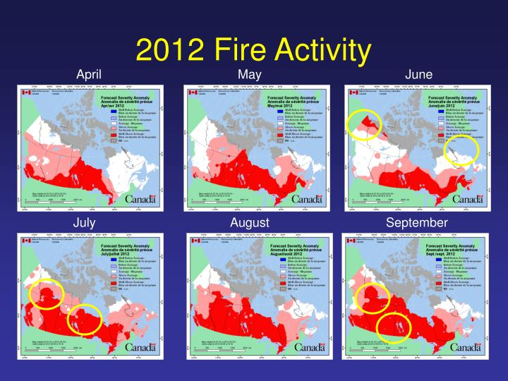 2012 Fire Activity