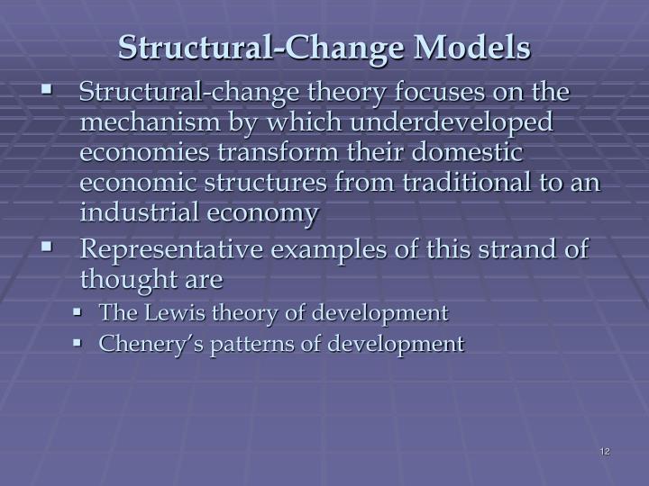 Structural-Change Models