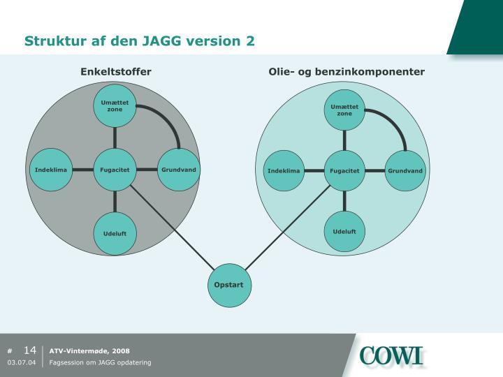 Struktur af den JAGG version 2