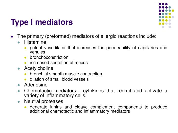 Type I mediators