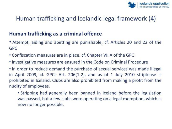 Human trafficking and Icelandic legal framework (4)