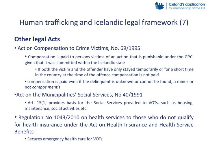Human trafficking and Icelandic legal framework (7)