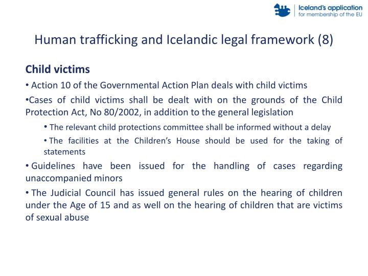 Human trafficking and Icelandic legal framework (8)