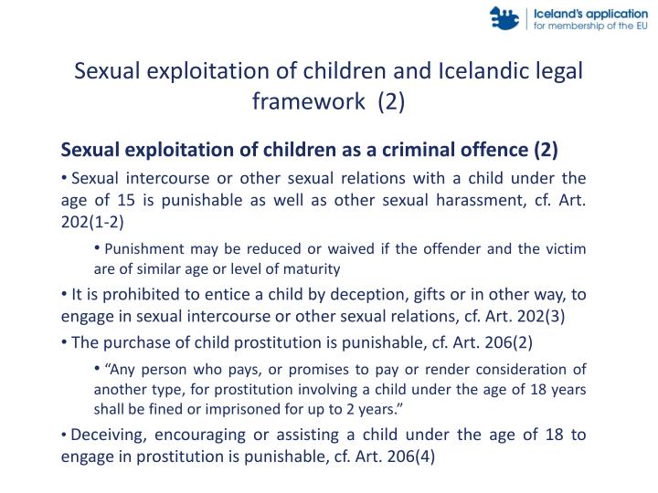Sexual exploitation of children and Icelandic legal framework  (2)