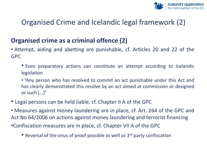 Organised Crime and Icelandic legal framework (2)