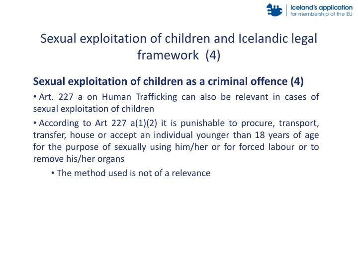 Sexual exploitation of children and Icelandic legal framework  (4)