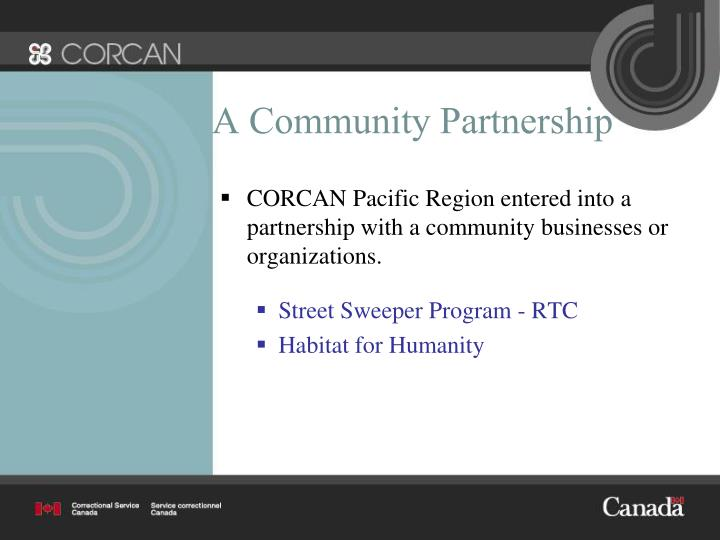 A Community Partnership