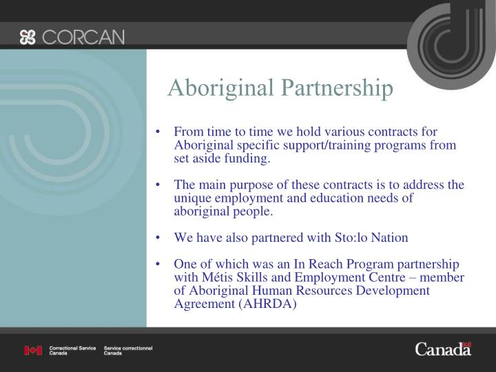 Aboriginal Partnership
