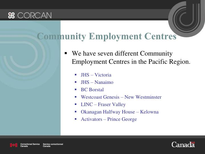 Community Employment Centres