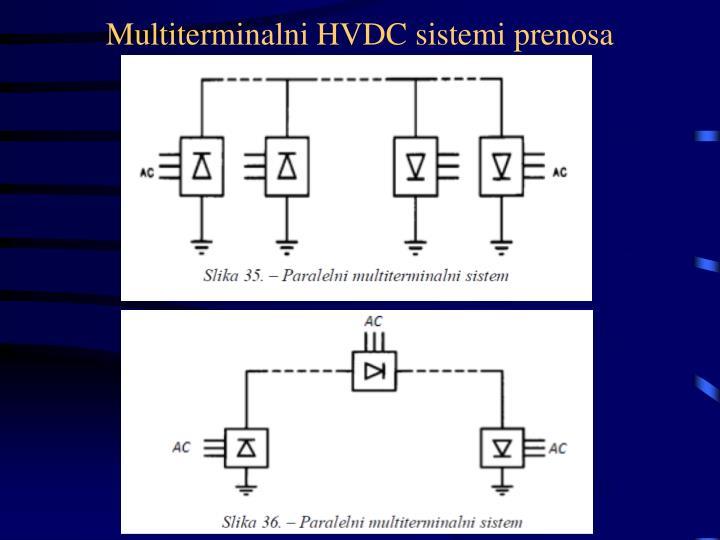 Multiterminalni HVDC sistemi prenosa