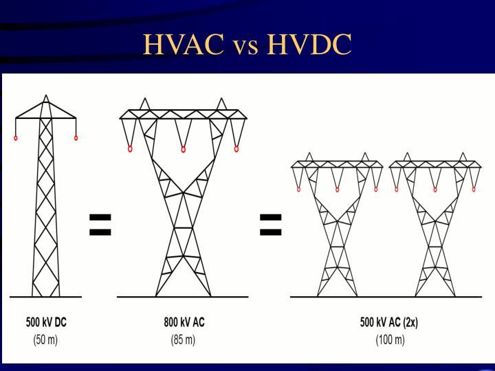 HVAC vs HVDC