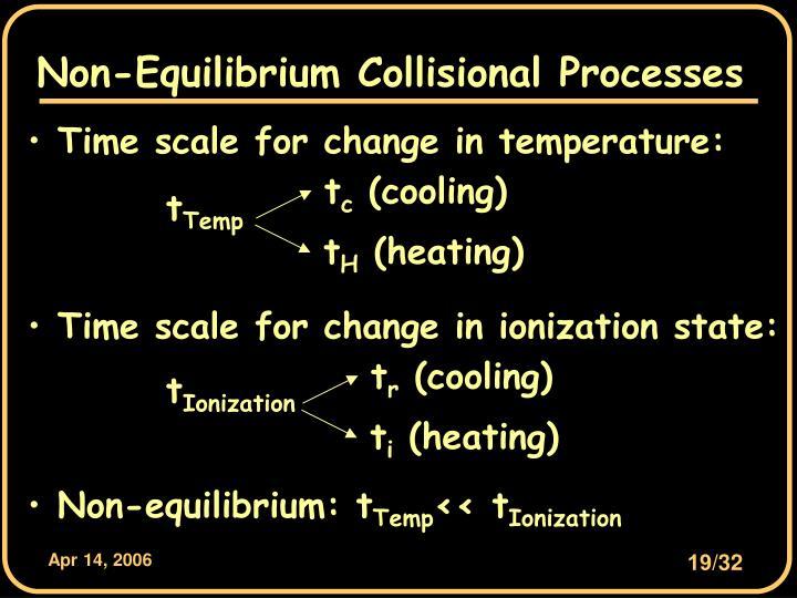 Non-Equilibrium Collisional Processes