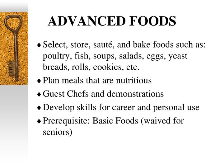 ADVANCED FOODS