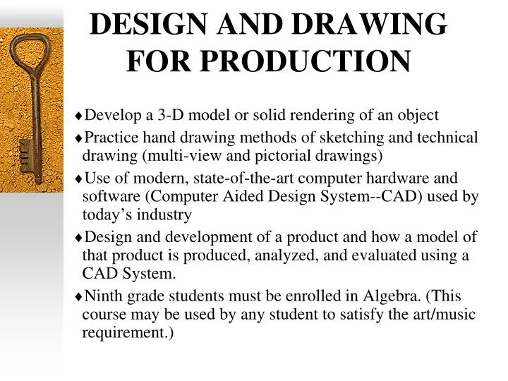 DESIGN AND DRAWING