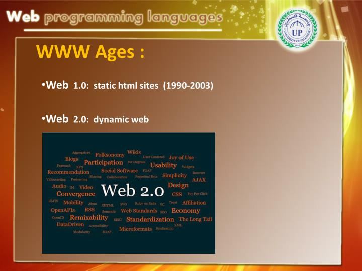WWW Ages :