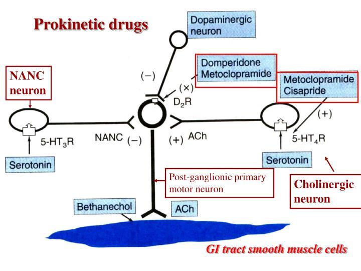 Prokinetic drugs