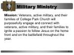 military ministry2