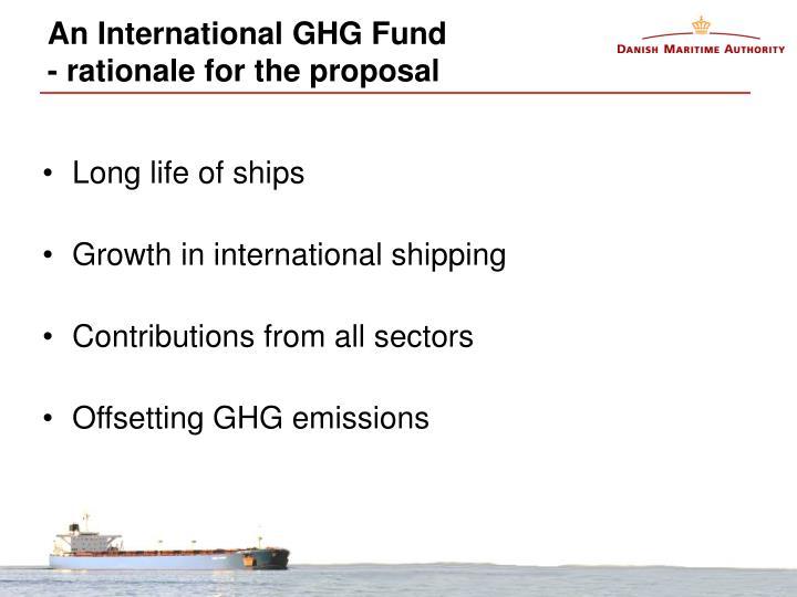 An International GHG Fund
