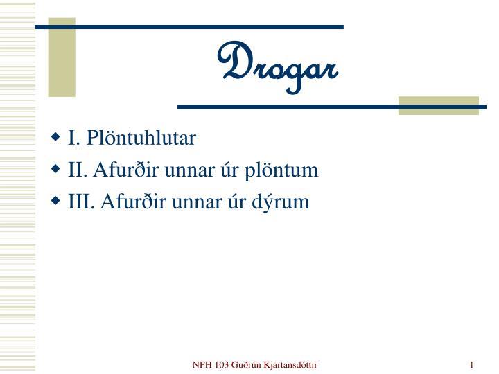 Drogar