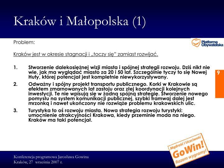 Kraków i Małopolska (1)