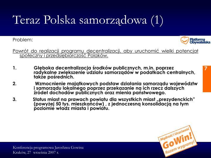 Teraz Polska samorządowa (1)