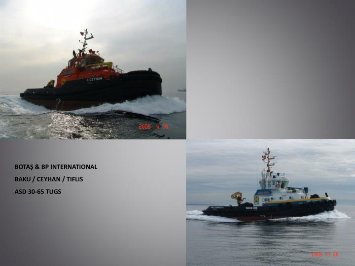 BOTAŞ & BP INTERNATIONAL