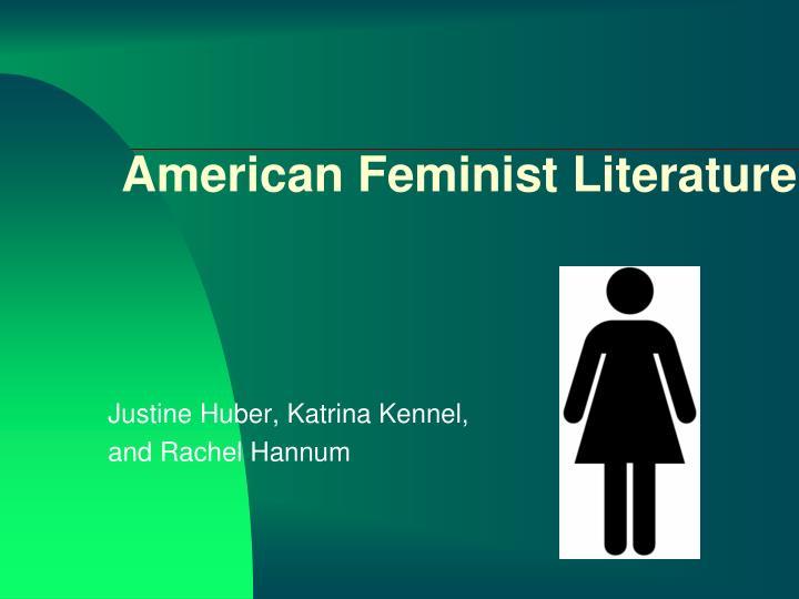 American Feminist Literature