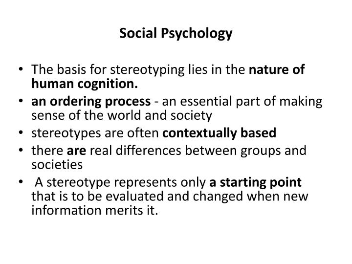 stereotypical relationship patterns and psychopathology