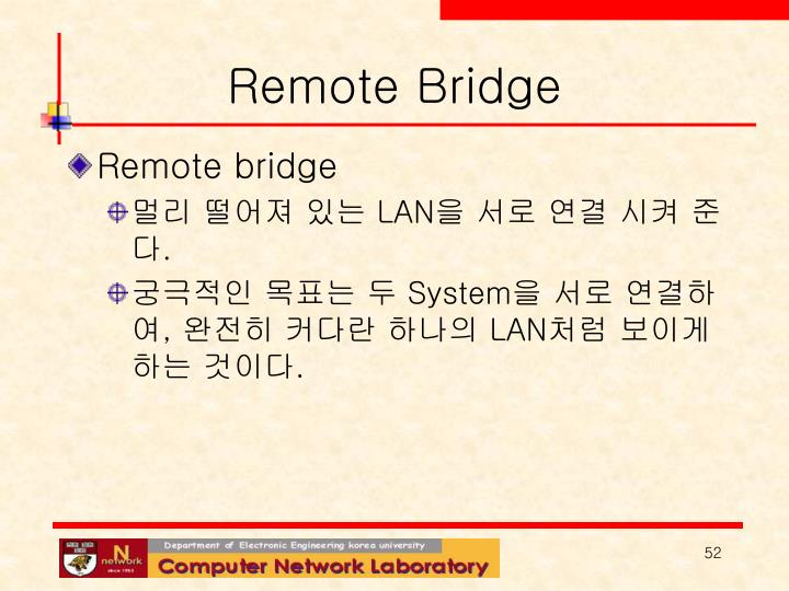Remote Bridge