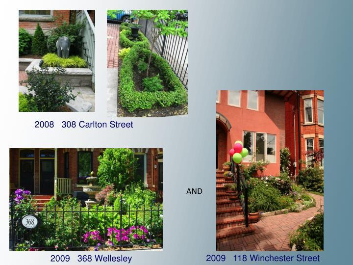 2008   308 Carlton Street
