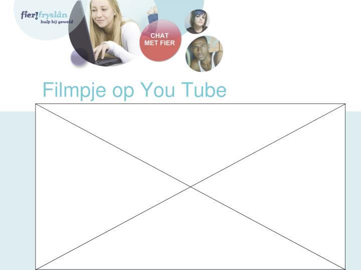 Filmpje op You Tube