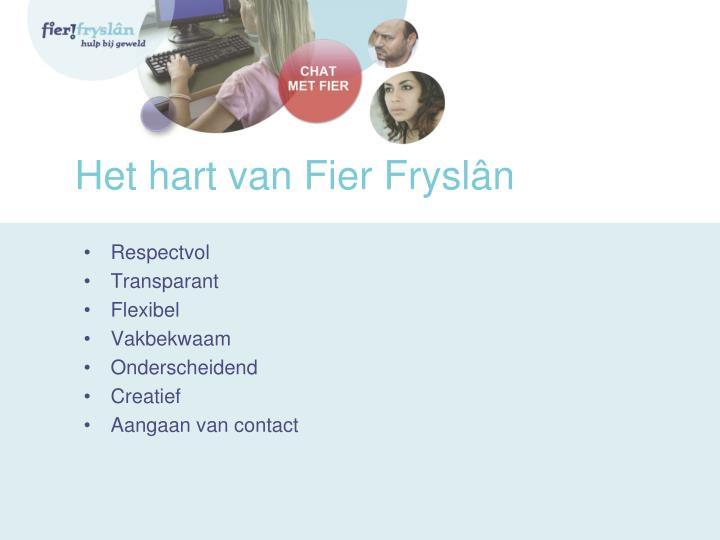 Het hart van Fier Fryslân