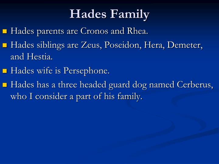 Hades Family