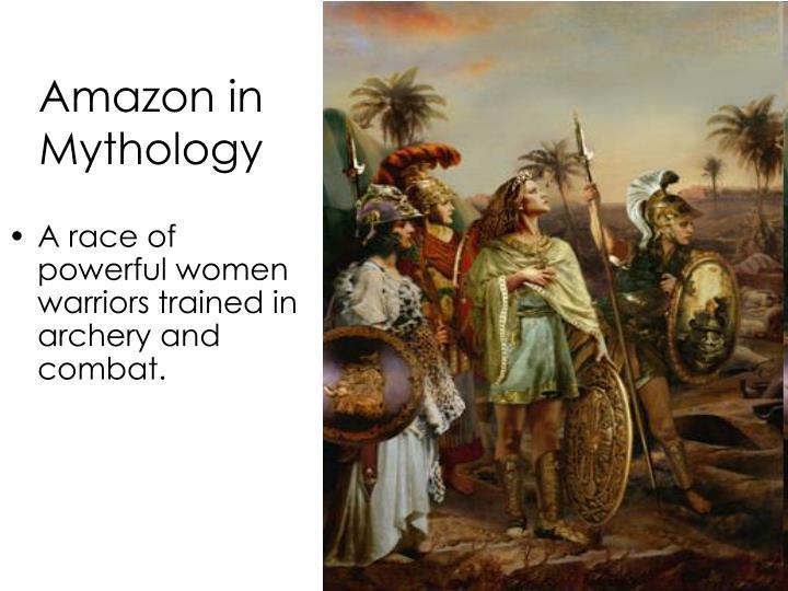 Amazon in Mythology