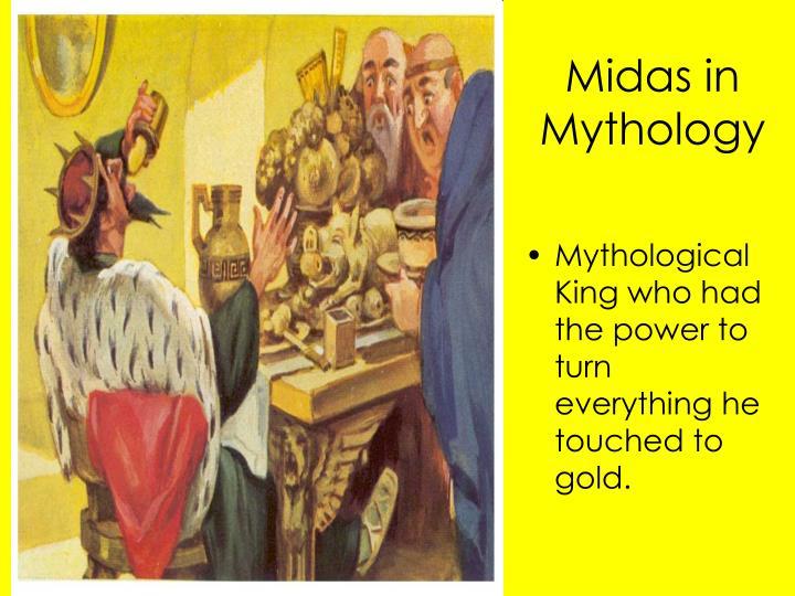 Midas in Mythology