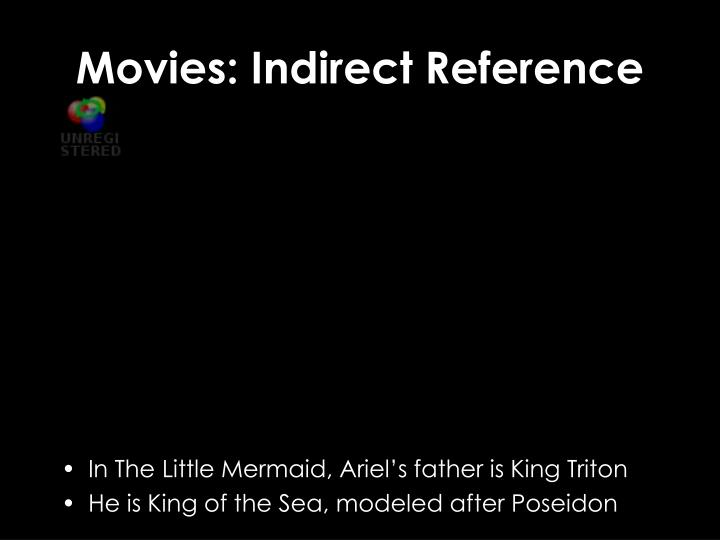 Movies: Indirect Reference
