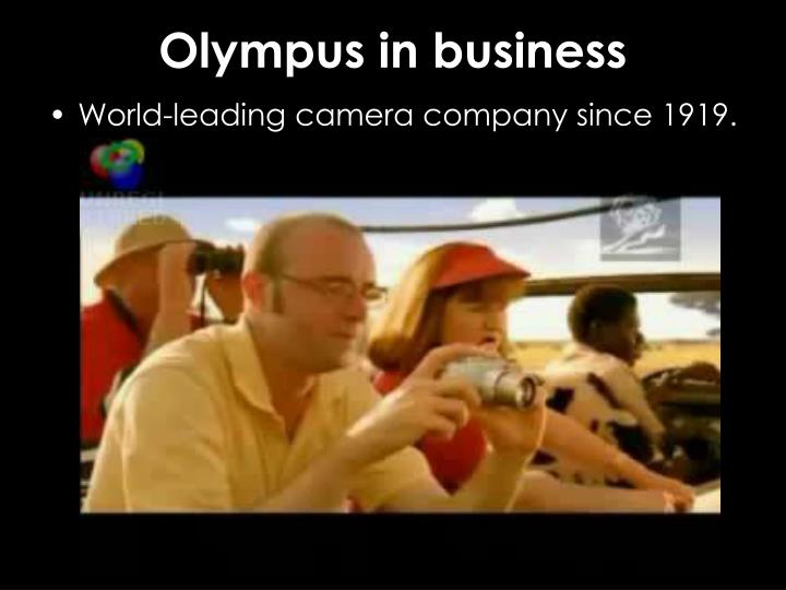 Olympus in business