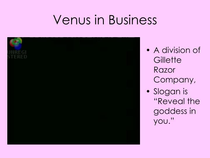 Venus in Business