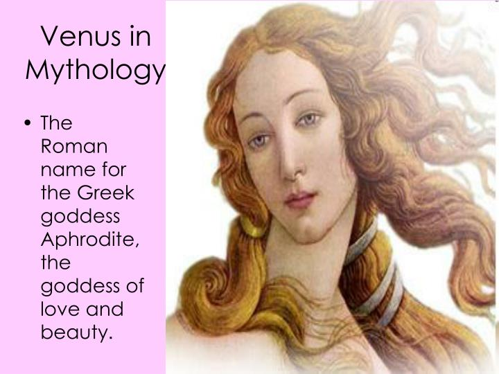 Venus in Mythology
