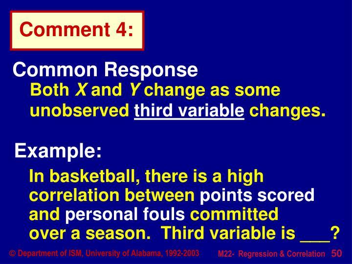 Common Response