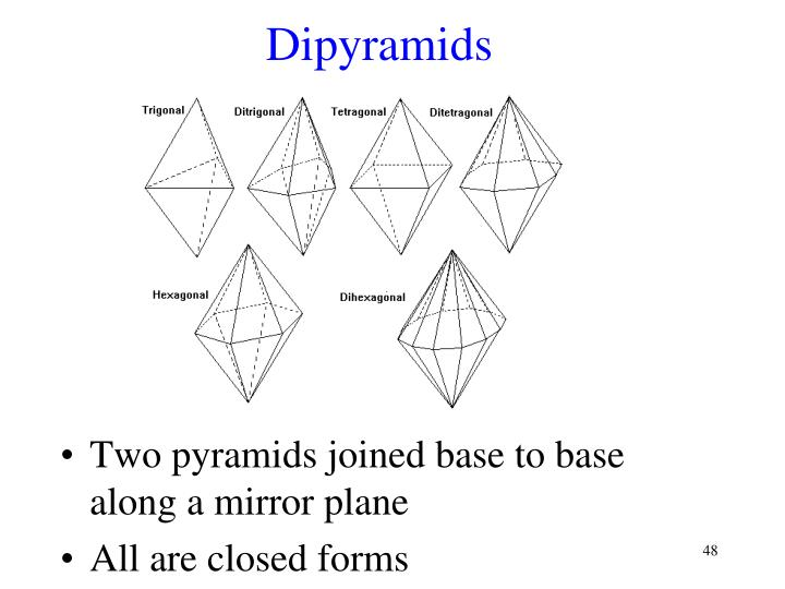 Dipyramids