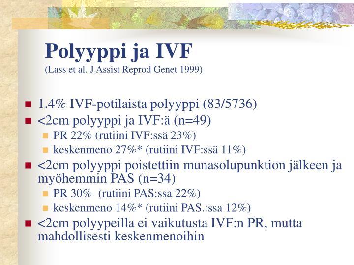 Polyyppi ja IVF