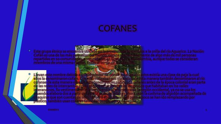 COFANES