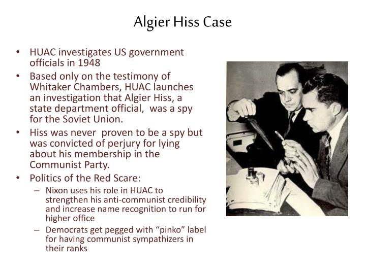 Algier Hiss Case