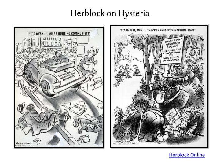 Herblock on Hysteria