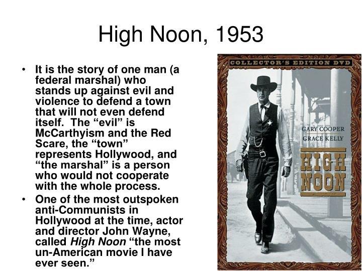 High Noon, 1953